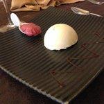 Dome de chocolat Blanc