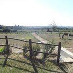 panorama dal giardinetto privato