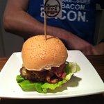 Jimmys farm burger!
