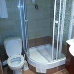 Bagno pulito, stanza doppia