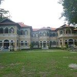 Colonial mansion now an upmarket Thai Restaurant