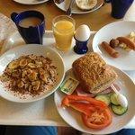Frukosten var alltid trevlig!