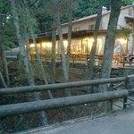 vista del ristorante sul fiume