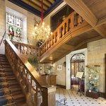 L'Escalier et les vitraux du XVIIIème siècle