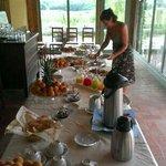 ...ancora colazione...