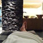 in attesa di un massaggio