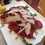 bresaola et parmesan