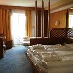 la stanza in cui abbiamo alloggiato