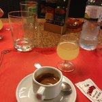 Limoncello e caffè espresso, come a casa :)