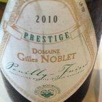 Domaine Gilles Noblet Prestige 2010