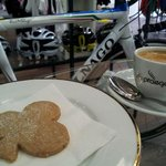 Our signature Colnago Cinnamon cookies