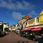 rue principale Agon-Coutainville