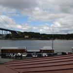 Blick vom Hotelzimmer Richtung Älvsborgsbrücke