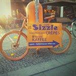 Sizzle bike at U/S Schönhauser Allee