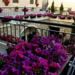 Fresco terrace
