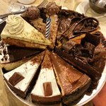 my sister can't decide which among the cakes should she get for my shoti's birthday so she ended