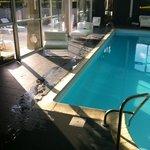 la piscine de l hotel