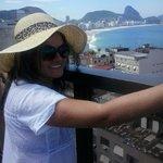 Vista da piscina do Copacabana Rio Hotel