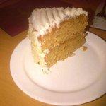 Huge carrot cake!