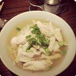 Clear Chicken Noodle Soup