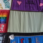 The AIDS quilt project
