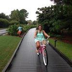 Biking at Sandestin