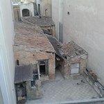 uitzicht uit onze balkon