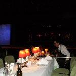 Mesas y escenario
