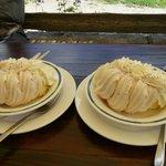Delicious meringue glacé.