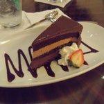 dessert at the restaurant/bar - very good!