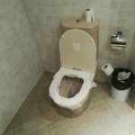 Toilettes de l'accueil ....