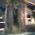 Indoor pool - awesome waterfall & two tiers