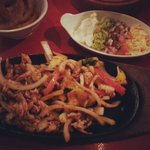 Really tasty fajitas!!