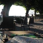 vue de la terrasse du restaurant la Citadelle