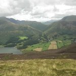 Looking down towards Buttermere