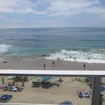 Un espectacular balcón sobre la playa