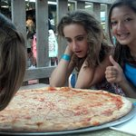 BIG pizza!