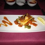 The Grilled Salmon starter- delicious!