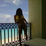 Sobre el Balcon!! en la Terraza