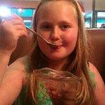 Nancy & yummy choc icecream
