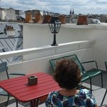 Ho Marais roof terrace