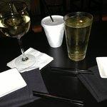 Cheers at Ronin Sushi