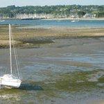 """Achterkant - Kamer met zicht op """"Le Port de Foret-Fouesnant"""