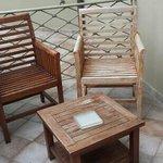 sedie esterne balcone camera