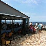 terrasse du restaurant leMena a Denia lieu dit las rotas