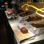 Zona de repostería: croissants, pan, etc...