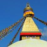 parte superior Stupa