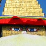 ojos de la stupa
