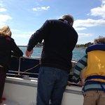 Line fishing on board Sirius