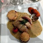 Emincé de Lieu jaune au Chorizo et à la coriandre fraîche